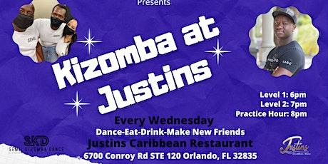 Kizomba at Justins tickets