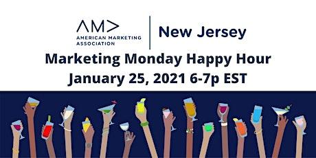 Marketing Monday Happy Hour AMA NJ (Virtual Zoom) tickets