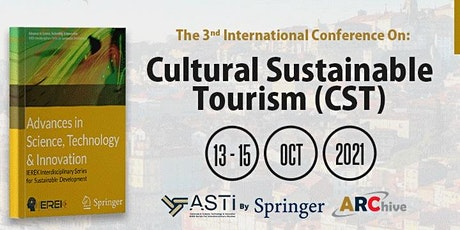 Cultural Sustainable Tourism (CST) - 4th Edition bilhetes