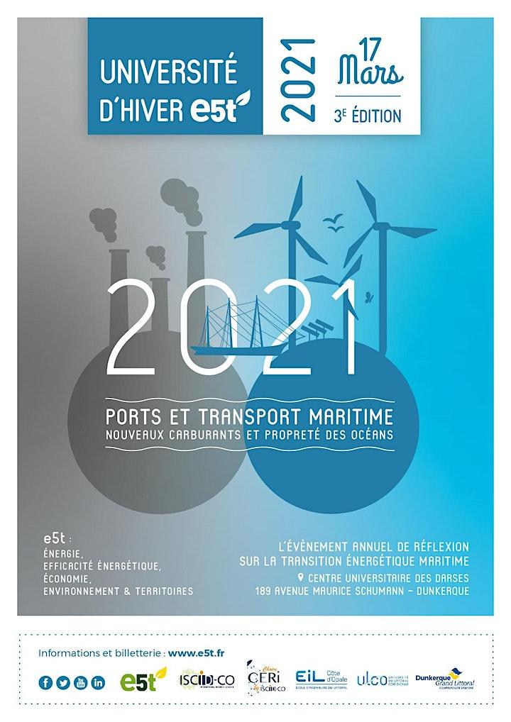 Image pour Université d'hiver E5T − Dunkerque