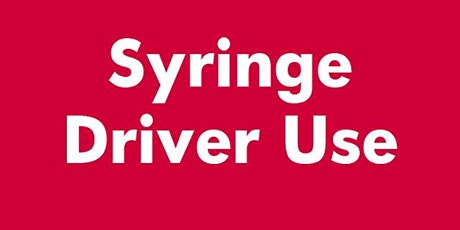 Syringe Driver Training (McKinley T34 Syringe Driver) tickets