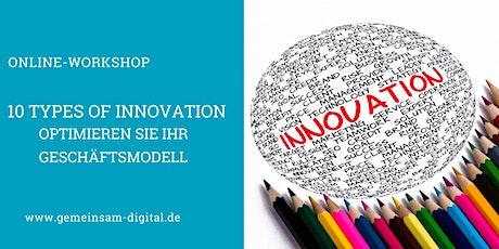 10 Types of Innovation Tickets