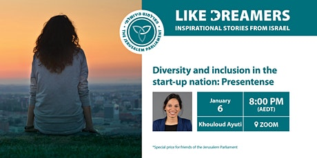 Diversity and Inclusion in the Starup Nation: Presentense tickets