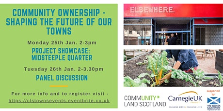 Community Ownership - Shaping the Future of Our Towns tickets
