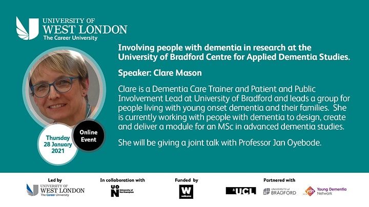 Engaging People Living with Young Onset Dementia in Research image