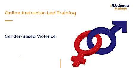 Training on Gender-Based Violence tickets