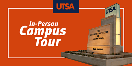 UTSA Campus Tour (In-Person) tickets