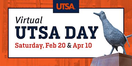 UTSA Day (Virtual) tickets