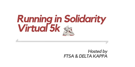 Running in Solidarity Virtual 5k tickets