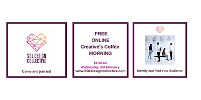 Online Creative's Coffee Morning: Identify and Find Your Audience
