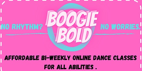 Boogie Bold Dance Classes tickets