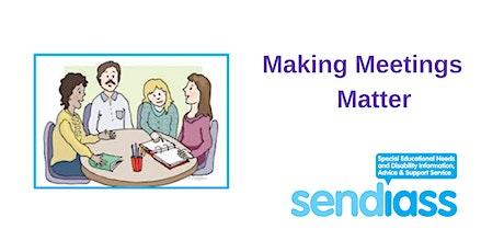 Making Meetings Matter tickets