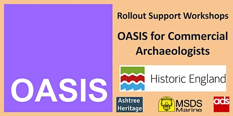 OASIS for Commercial Archaeologists - Support Workshop tickets