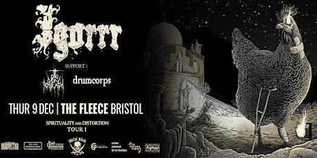 Igorrr / Otto von Schirach / Drumcorps tickets