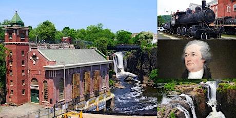 'Paterson, NJ: Alexander Hamilton's Planned City of Industry' Webinar tickets