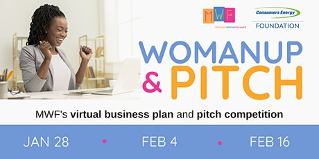 WomanUp & Pitch tickets