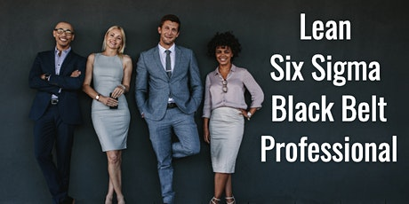 Certified Lean Six Sigma Black Belt Certification Training in Manchester tickets