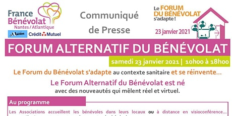 FORUM ALTERNATIF DU BENEVOLAT 2021 billets