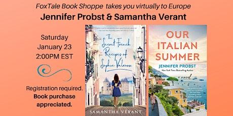 Jennifer Probst & Samantha Verant Virtual FoxTale tickets