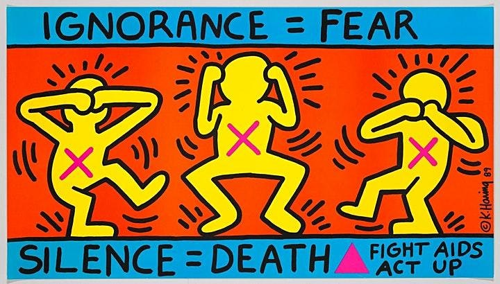 Downtown 80s New York Queer Art Crawl, Keith Haring & More image