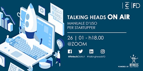 Talking Heads - Manuale d'uso per startupper biglietti