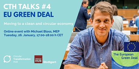 CTH Talks#4: The EU Green Deal - an online event with Michael Bloss, MEP tickets