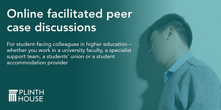 Peer case discussion - for anyone  in a student-facing role in HE image