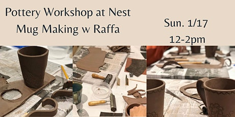 Pottery Workshop w. Raffa of Sunken Orchard Ceramics tickets
