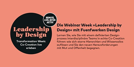 PAGE Transformation Week »Co-Creation live erleben« mit Fuenfwerken Design Tickets