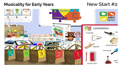 New To ABC Early Years Musicality Resources #2 tickets
