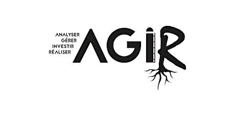 Formation AGIR - Calcul de votre coût de production et de revient tickets