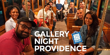 Rebuilding a City Around the Arts: The History of Gallery Night Providence tickets