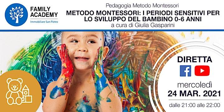 Immagine METODO MOTESSORI:  I PERIODI SENSITIVI PER LO SVILUPPO DEL BAMBINO 0-6 ANNI