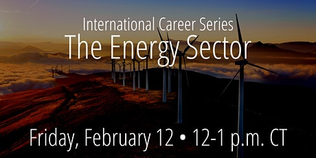 International Career Series: The Energy Sector tickets