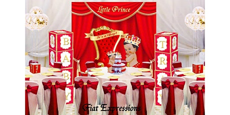 How to Decorate a Prince Baby Shower on a Budget? tickets