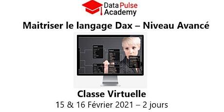 Maîtriser le langage DAX - Niveau avancé - 2 jours - 15 & 16 Février 2021 billets