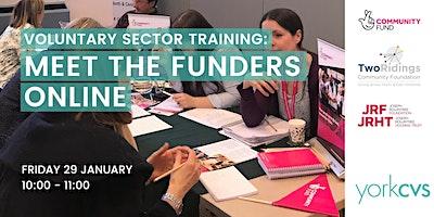 Meet the funders online meeting