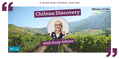 Chilean Discovery with Susy Atkins tickets