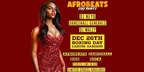 Afrobeats Day Party tickets