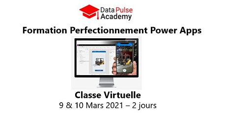 Power Apps Perfectionnement - 2 jours - 9 & 10 Mars 2021 billets