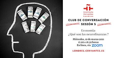 Club de Conversación en español - Sesión 5 tickets