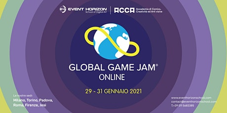 Event Horizon School + ACCA Academy-Global Game Jam Online 2021: Roma/Jesi biglietti