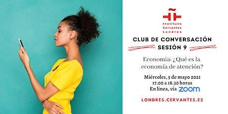 Club de Conversación en español - Sesión 9 boletos
