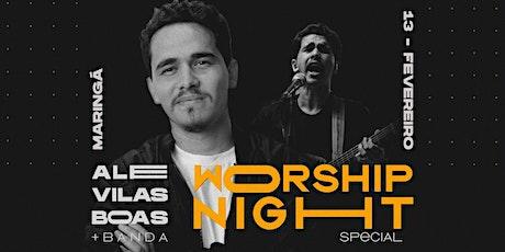 ALESSANDRO VILAS BOAS | Worship Night Special ingressos