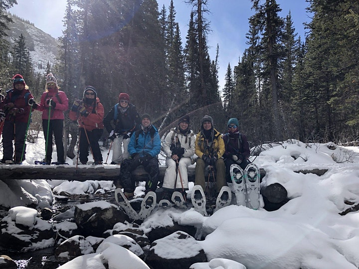 Women's snowshoe adventure hike series image