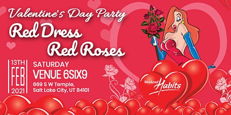 Red Dress, Red Roses: A Formal Affair For Weekend Habits Insiders tickets