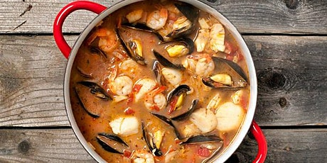 Virtual Hands-on Cooking Class- Cioppino Seafood Stew tickets