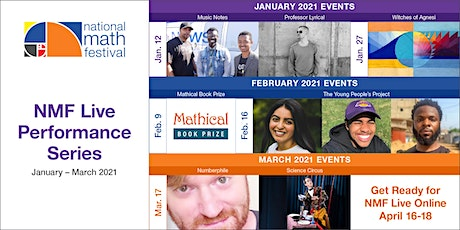 NMF Live Performance Series – 2021 National Math Festival tickets