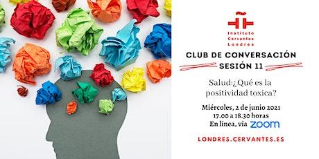 Club de Conversación en español - Sesión 11 boletos