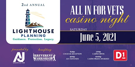 All in for Vets Casino Night tickets